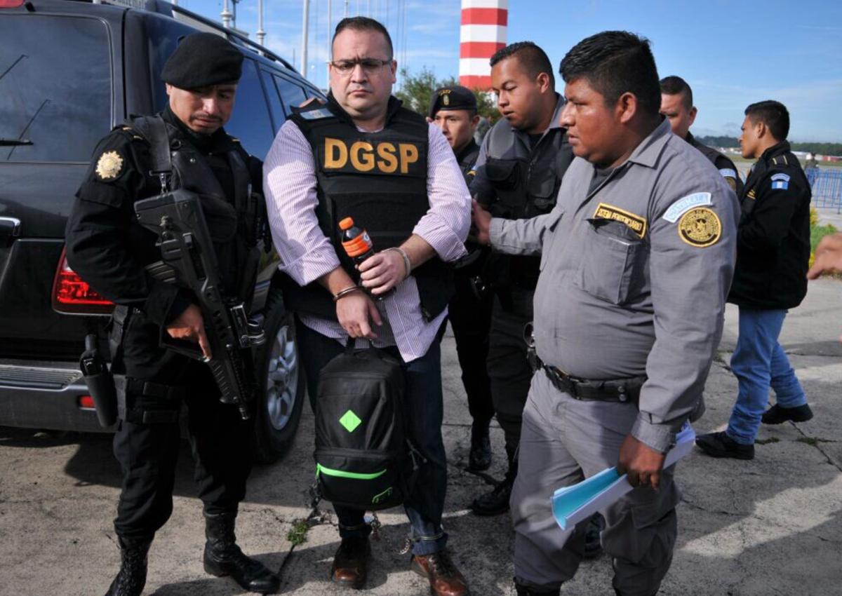 Confirma Guatemala que mañana extraditan a Javier Duarte