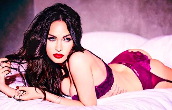 Megan Fox rompe la red en lencería (Fotos y Video)