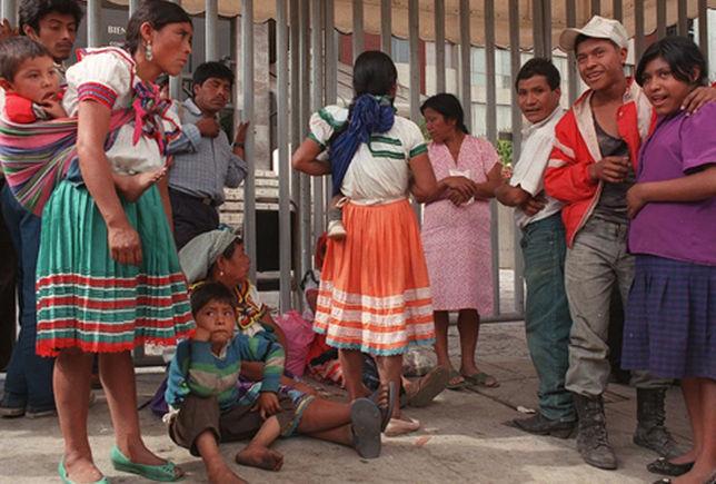 Resultado de imagen para indígenas mexicanos pobres