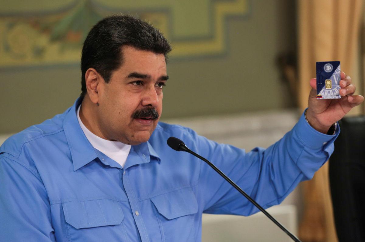 Nicolás Maduro comienza plan de ahorro en oro venezolano