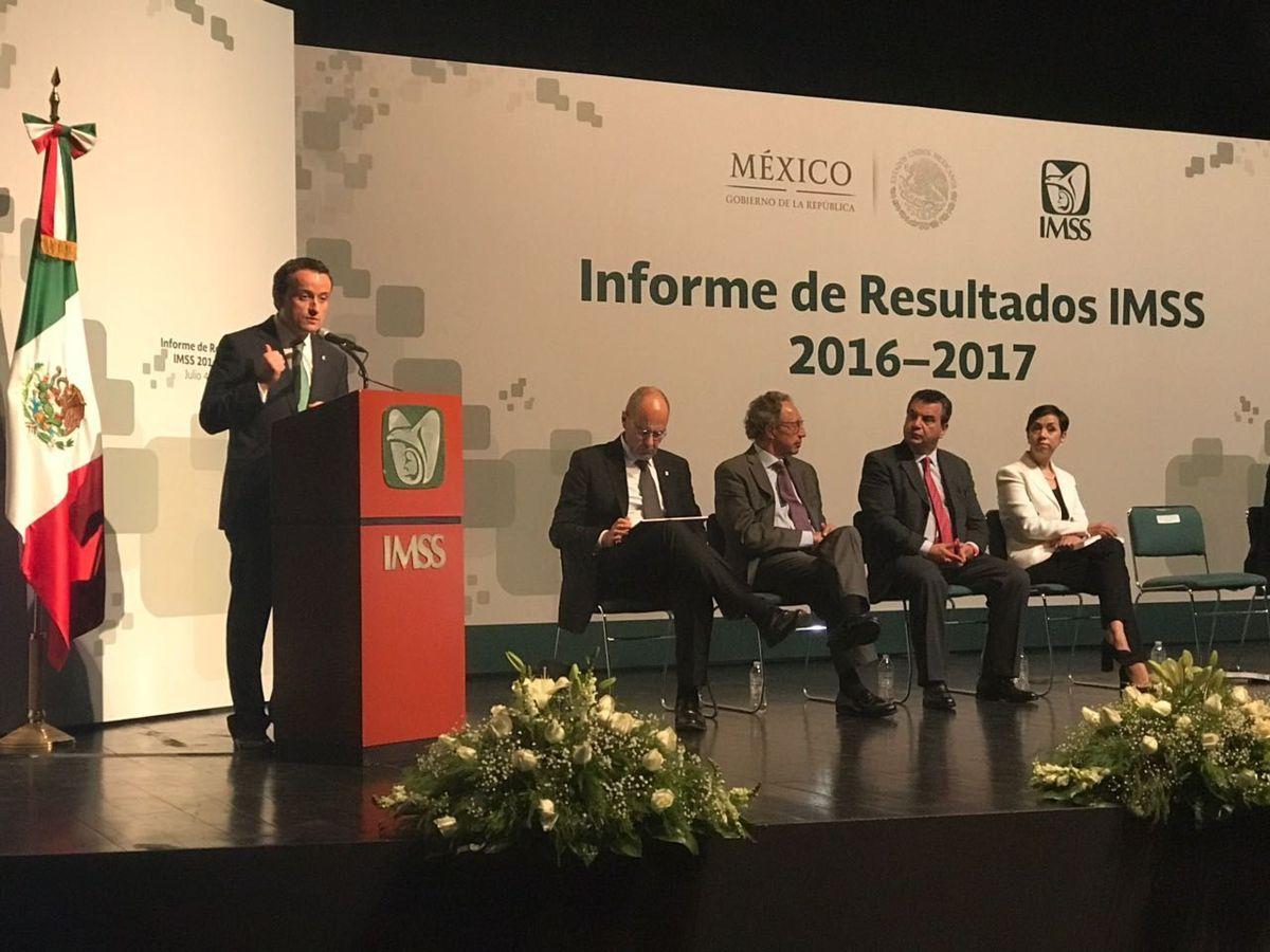 Mikel Arriola: Se acabó la crisis en el IMSS