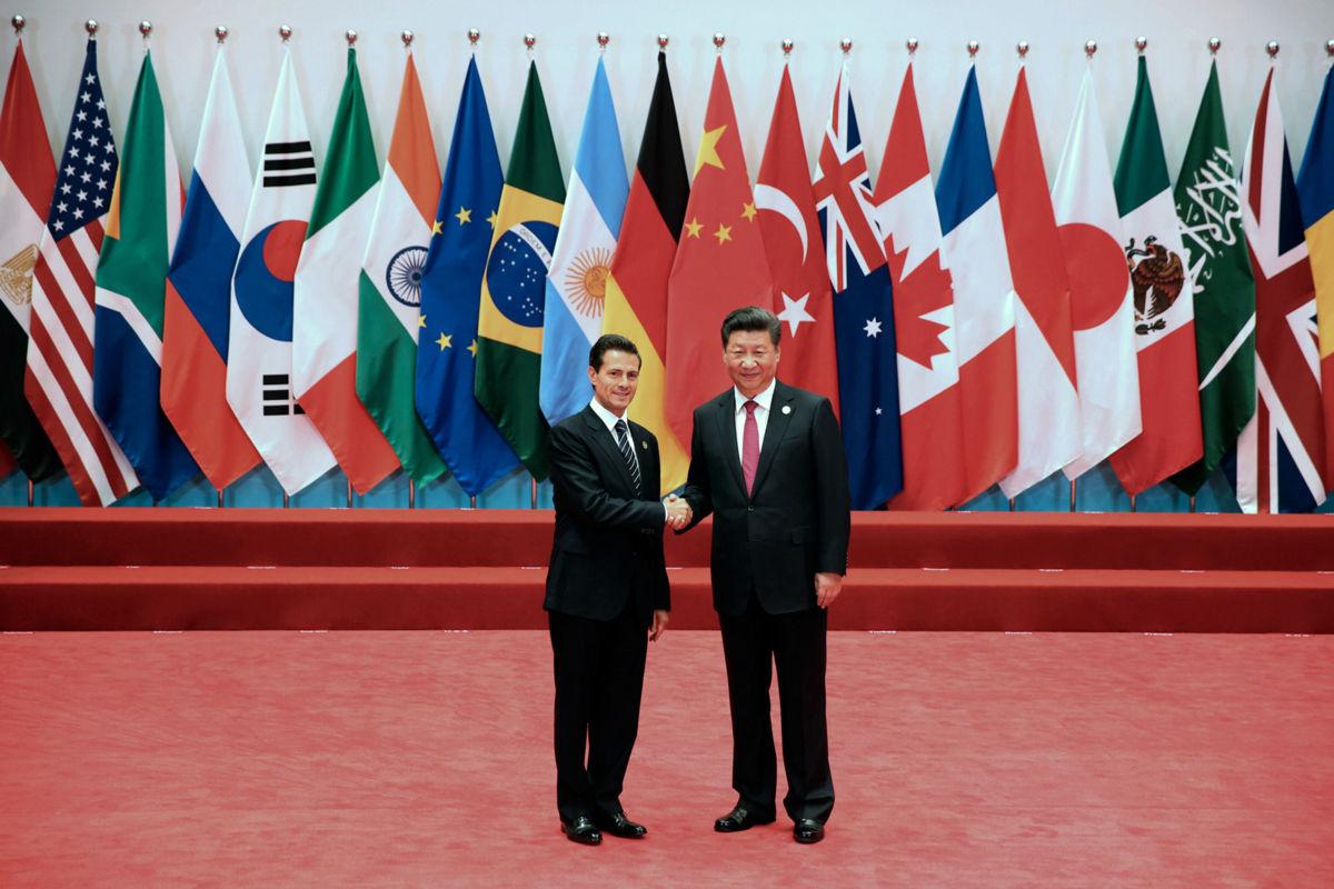 Epn concluye visita a china y su participaci n en cumbre for Espectaculo chino en mexico