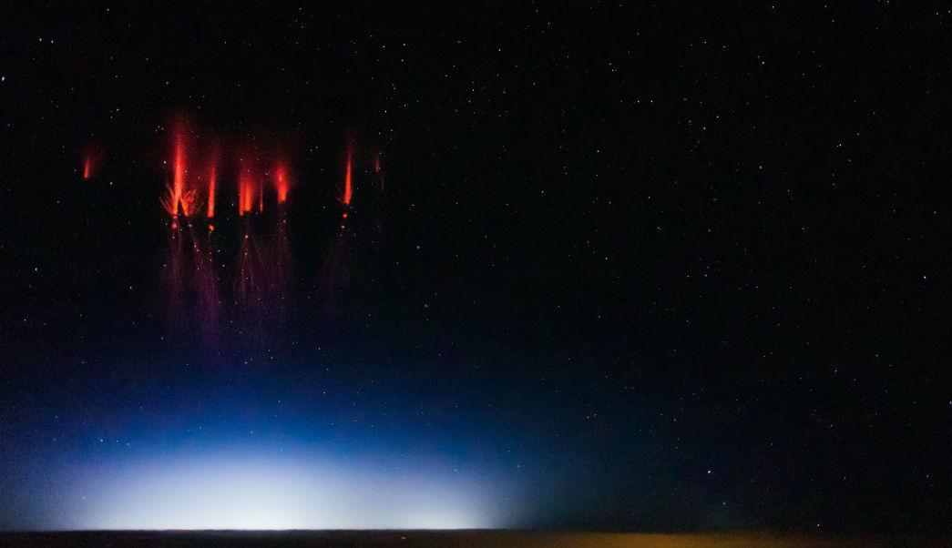 Raro fenómeno iluminó el cielo de EEUU (Video)