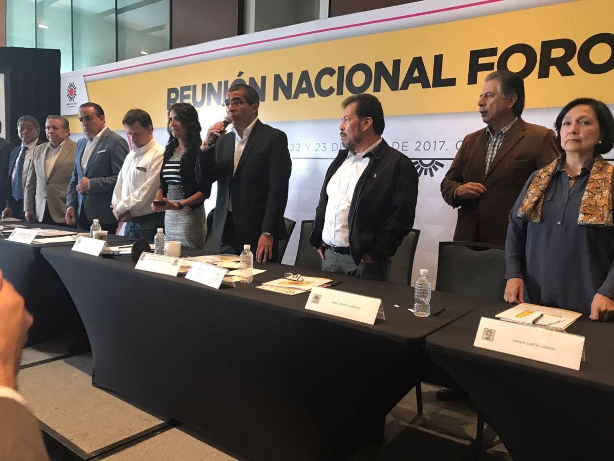 PRD ratificaría Frente Amplio Democrático en agosto: Alejandra Barrales