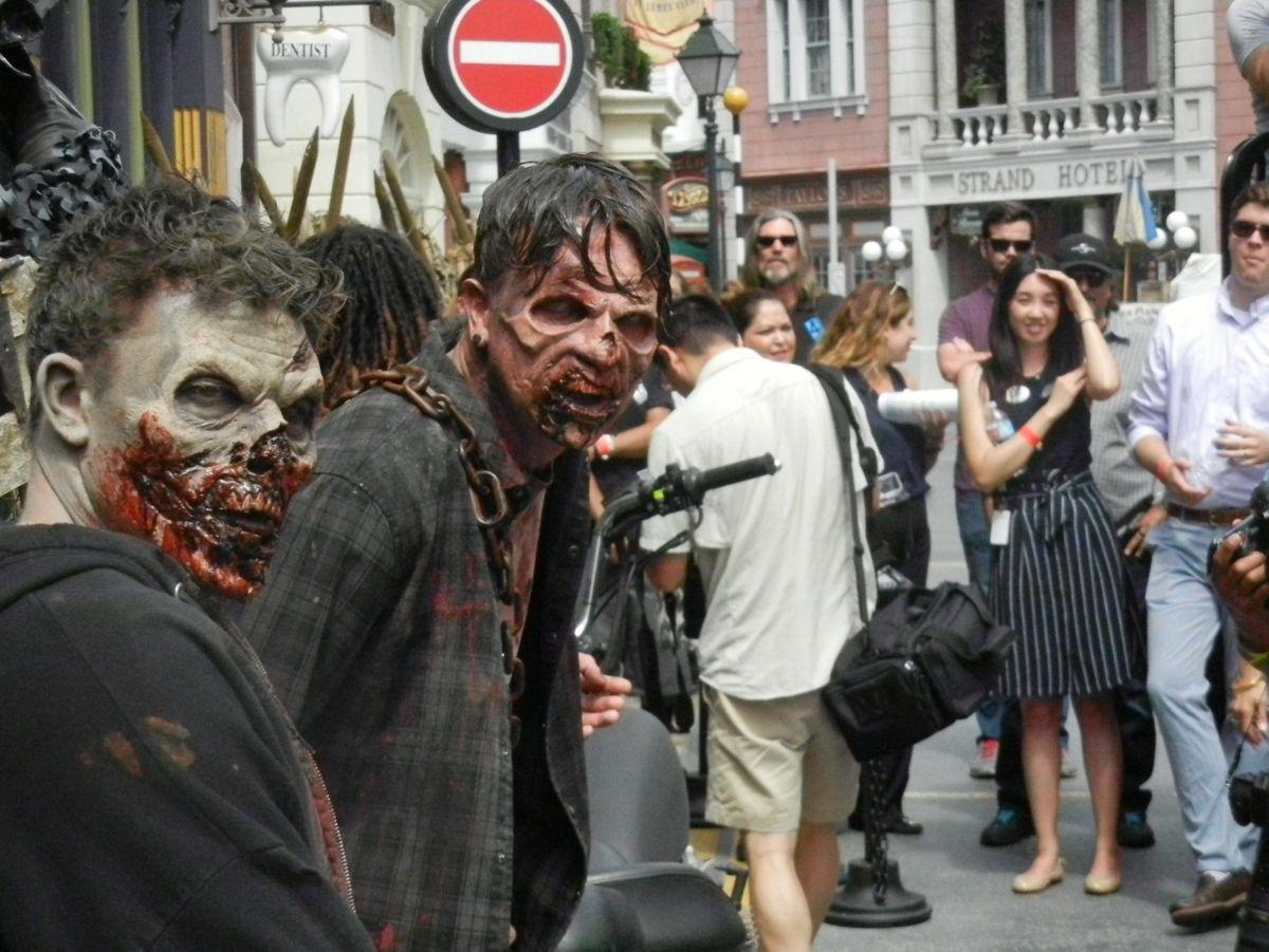 39 The Walking Dead 39 Abre Sus Puertas En Los Estudios