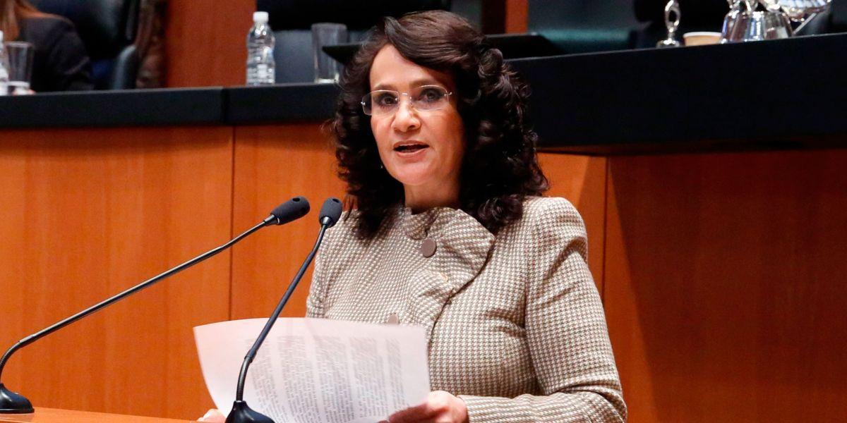 Resultado de imagen para Dolores Padierna, coordinadora del PRD en la Cámara alta.