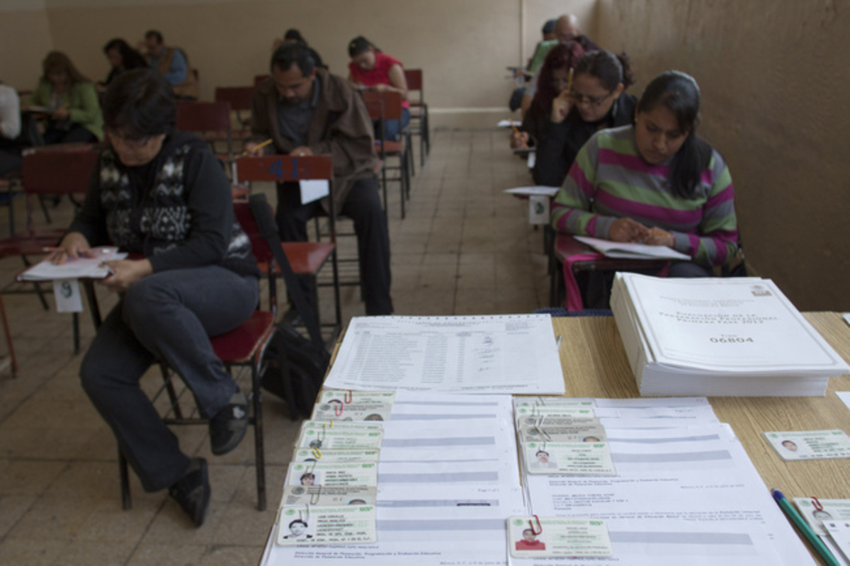 Aplican en chiapas concurso de plazas docentes mvs noticias for Concurso para plazas docentes