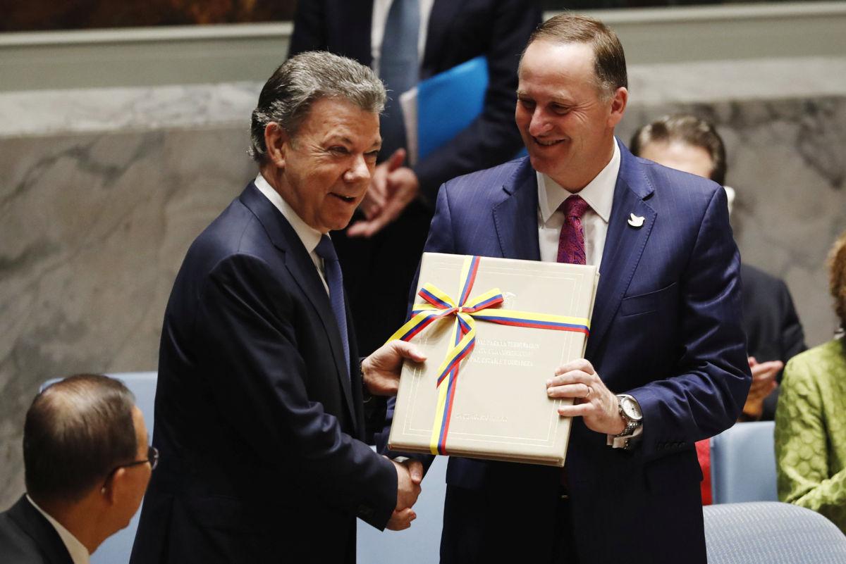 Acordo de paz Colômbia & FARC - Chega ao fim 52 anos de guerra
