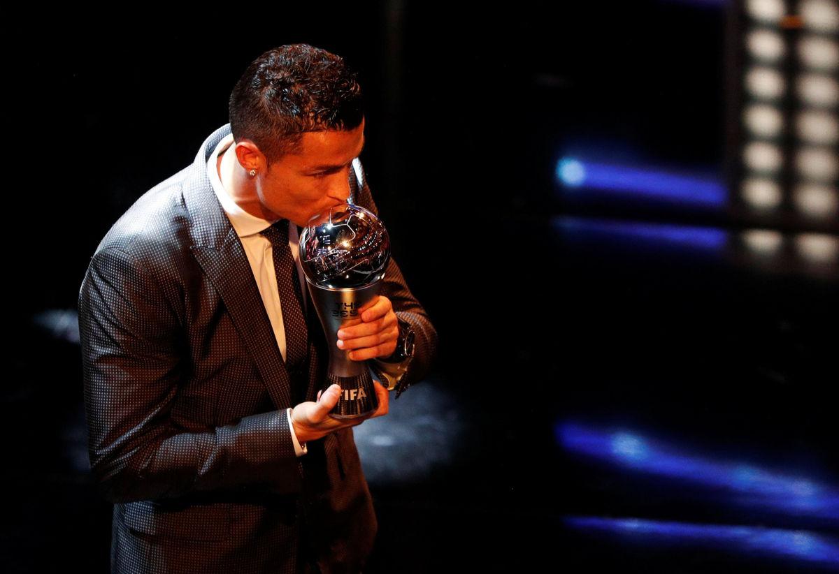 Cristiano Ronaldo vuelve a ser por segundo año 'The Best'