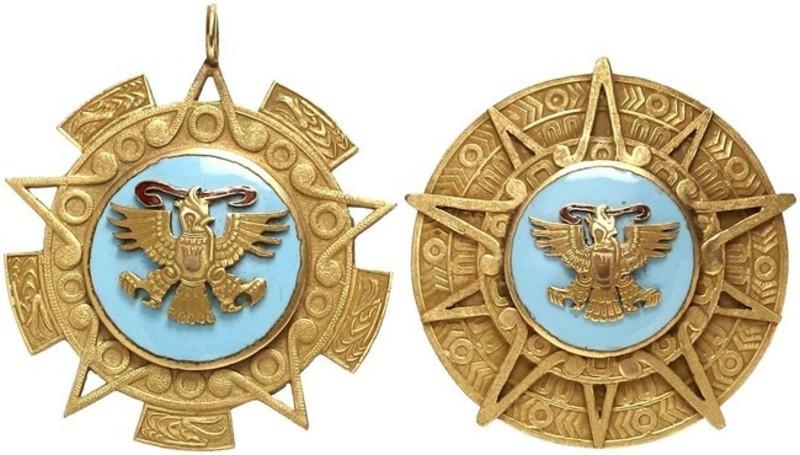 otorga méxico orden del Águila azteca a presidentes de brasil y