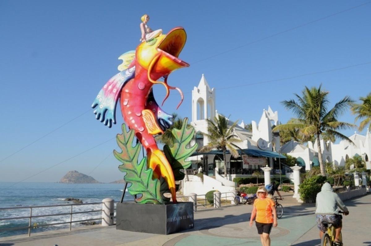 Engalanarán esculturas gigantesco festejo del carnaval internacional de Mazatlán