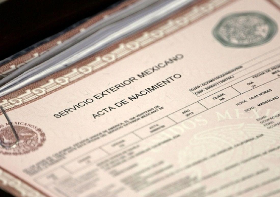 Dorable Acta De Nacimiento Perth Festooning - Certificado Actas de ...