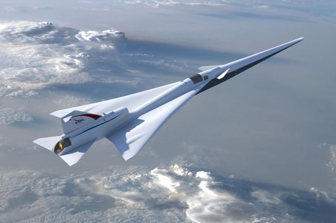NASA completa etapa de diseño inicial de aeronave supersónica