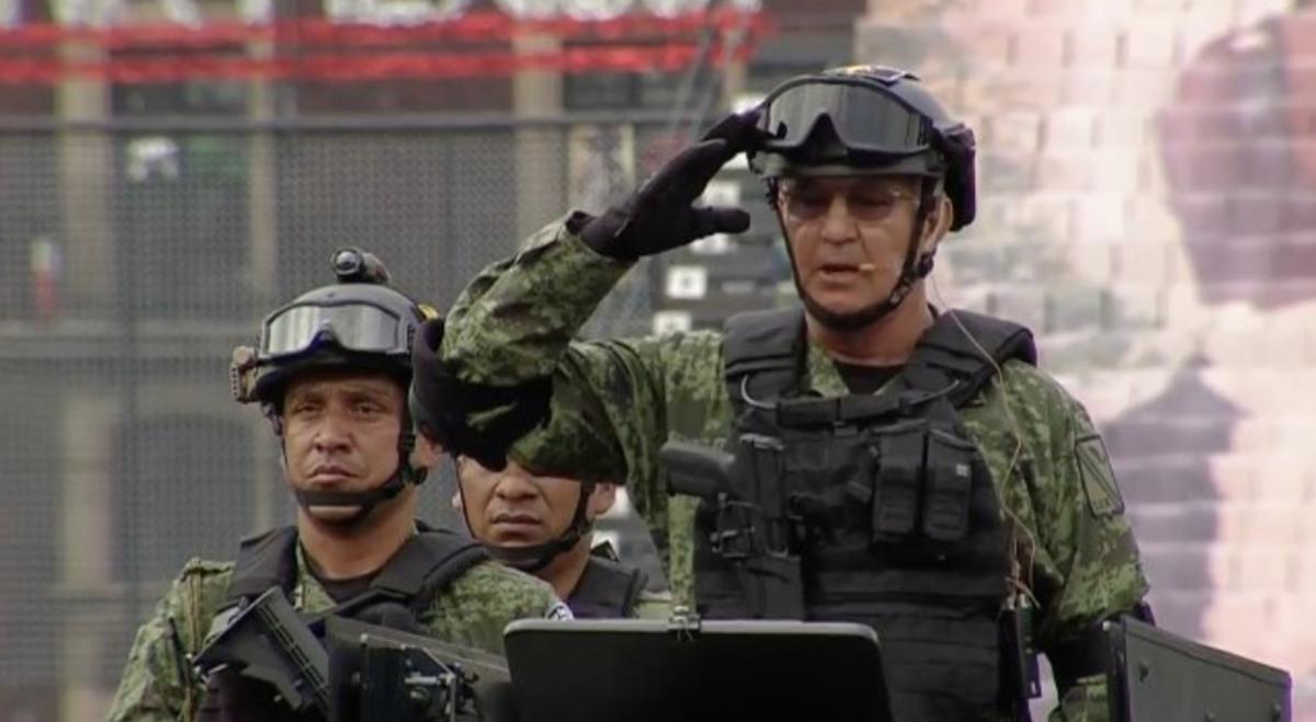 Ej rcito mexicano trabaja sin simulaci n afirma el general Noticias del espectaculo mexicano