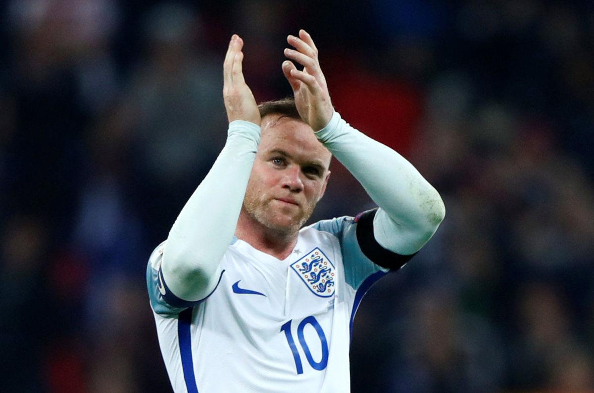 Wayne Rooney se retira de selección inglesa de futbol