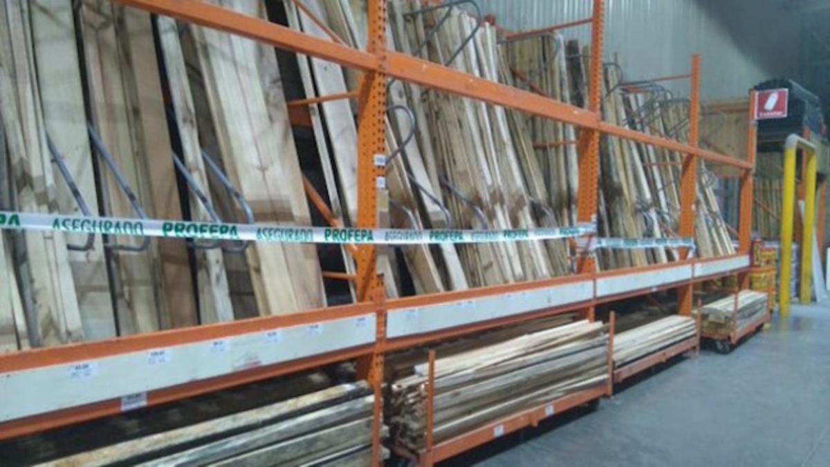 Profepa asegura madera a sucursales de home depot en for Home depot sucursales