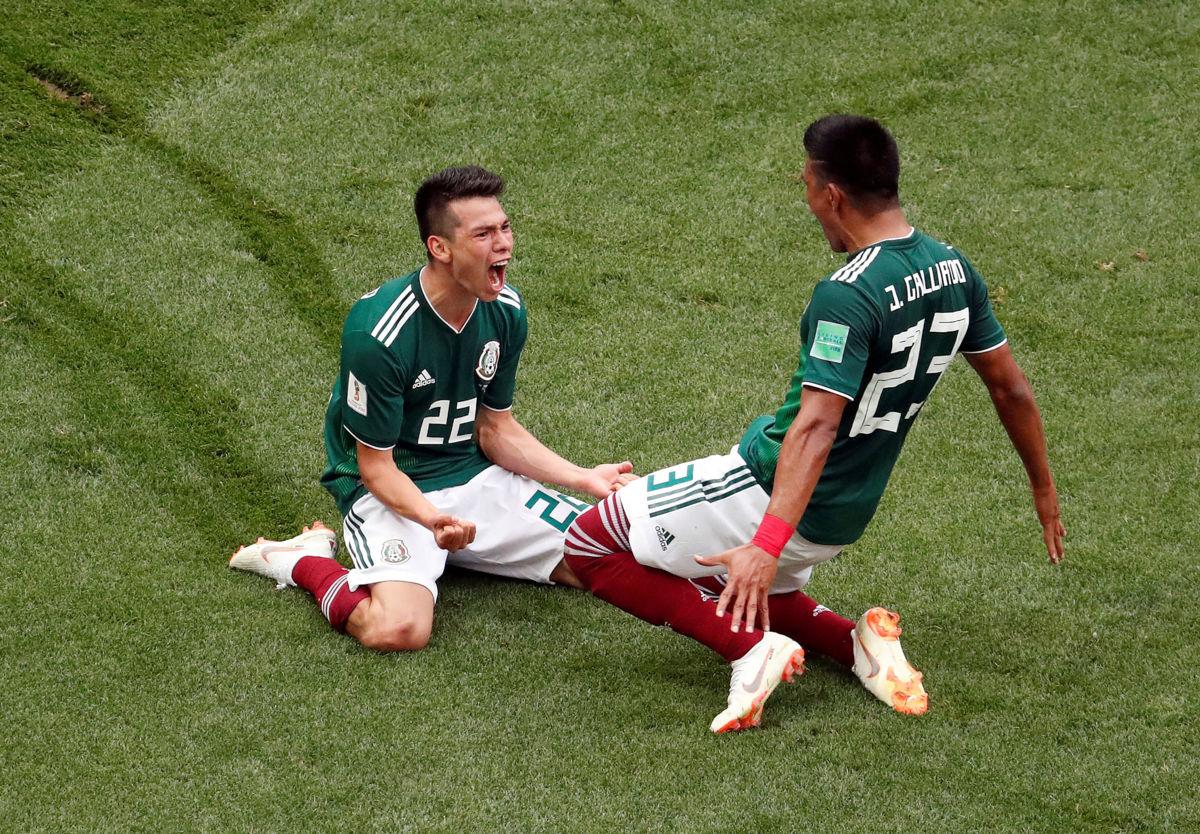 Las lágrimas de Chicharito tras la histórica victoria de México