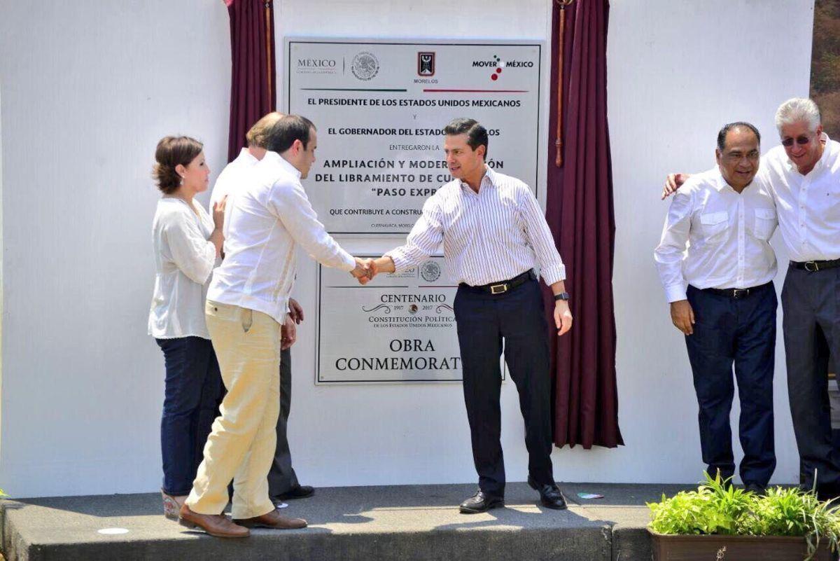 Ordena EPN a Ruiz Esparza destituir a funcionarios encargados de supervisar Paso Exprés