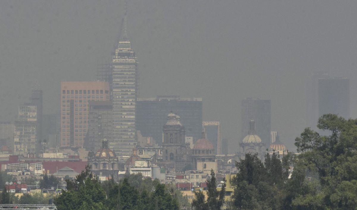 Hay muy mala calidad del aire en CdMx; no hay contingencia
