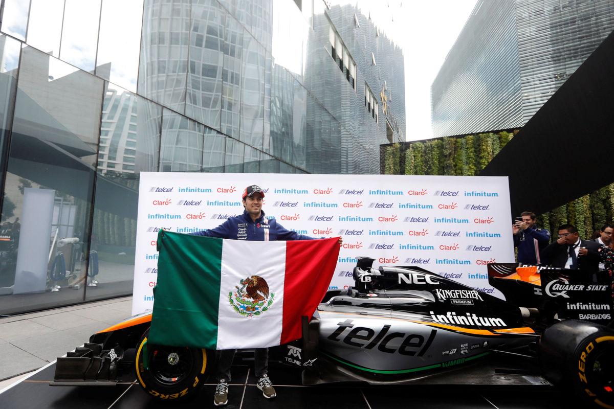 'Checo' espera en 2018 consolidarse con Force India y dar brinco a equipo grande