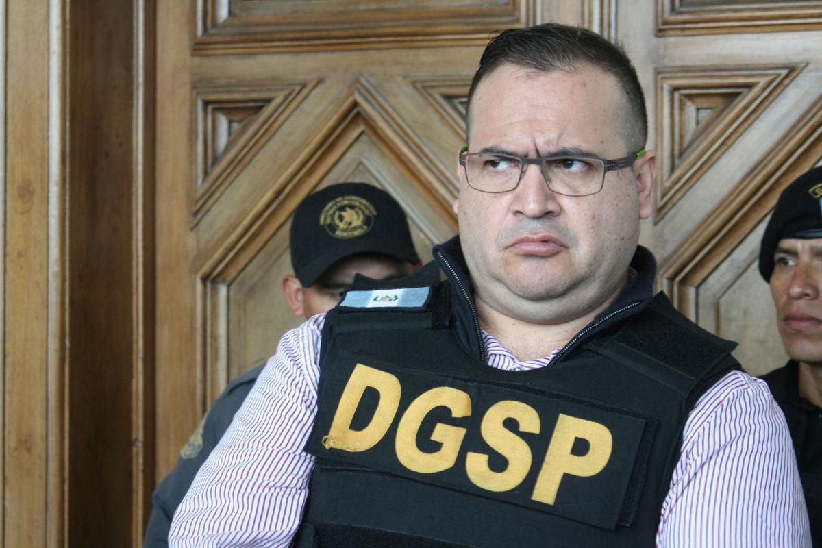 Guatemala prepara para extradición de exgobernador mexicano