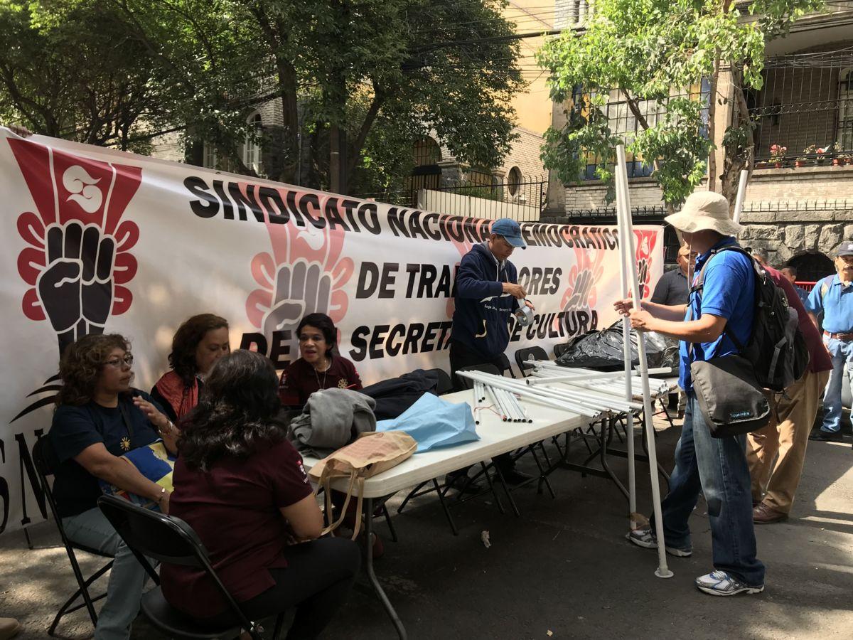 Trabajadores de Cultura rechazan plan de AMLO para mudar Secretaría