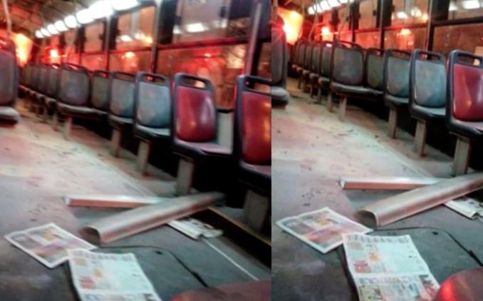 Murió mujer que fue quemada arriba de un bus — Perú
