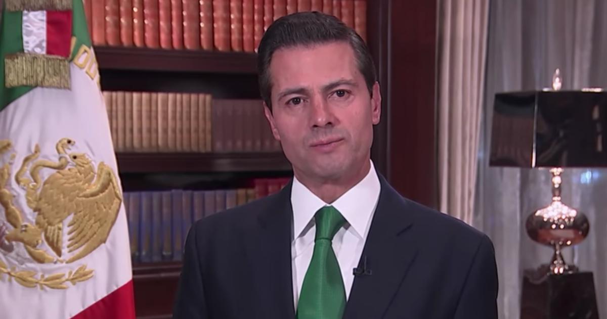 Foto: Enrique Peña Nieto, presidente de México / Captura de pantalla