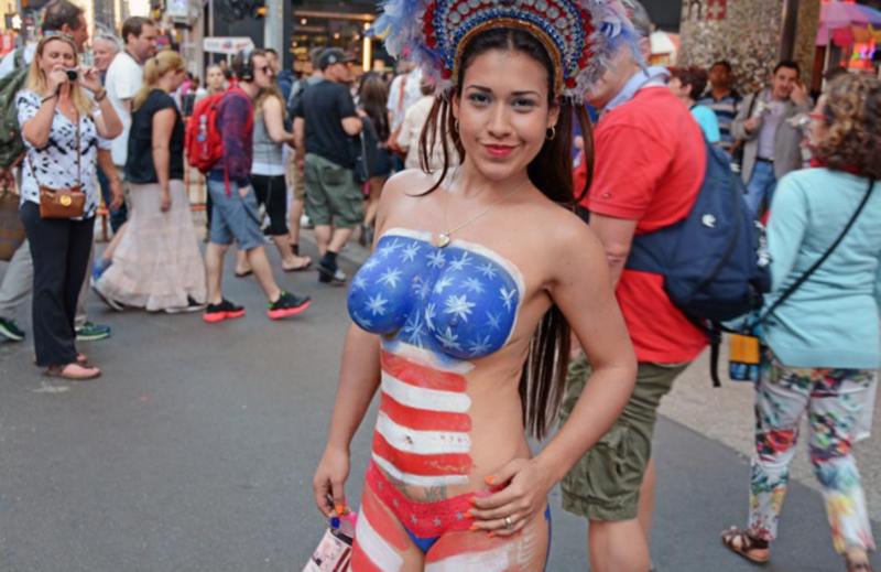 Nueva York foto desnuda