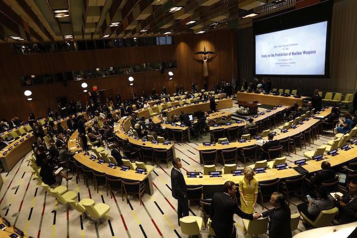 México ratifica tratado sobre prohibición de armas nucleares ante ONU
