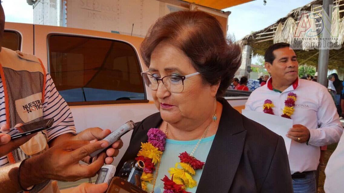 Fallece la alcaldesa suplente de Temixco, Irma Camacho García