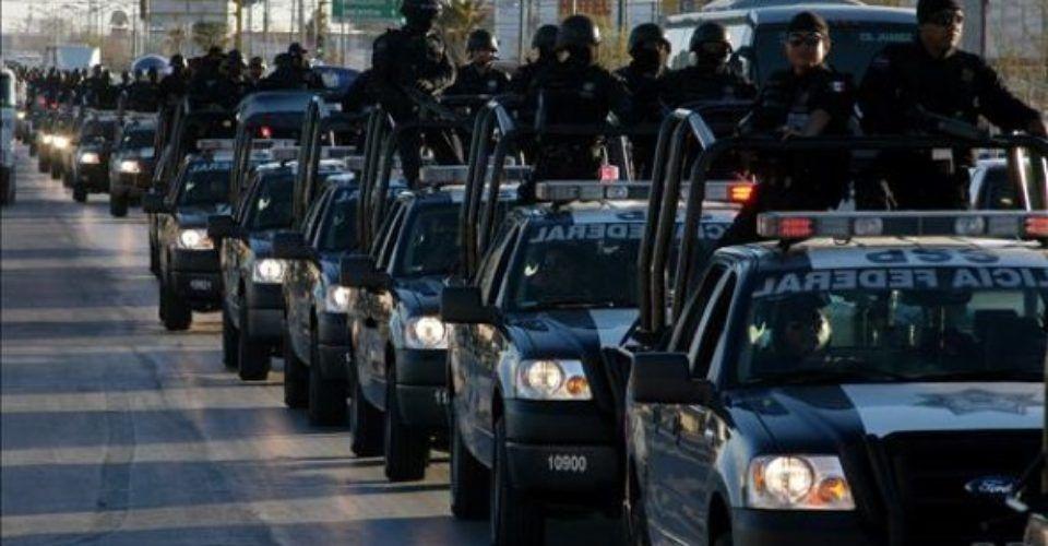 Llegan 300 federales y esperan más refuerzos…de la Policía Militar