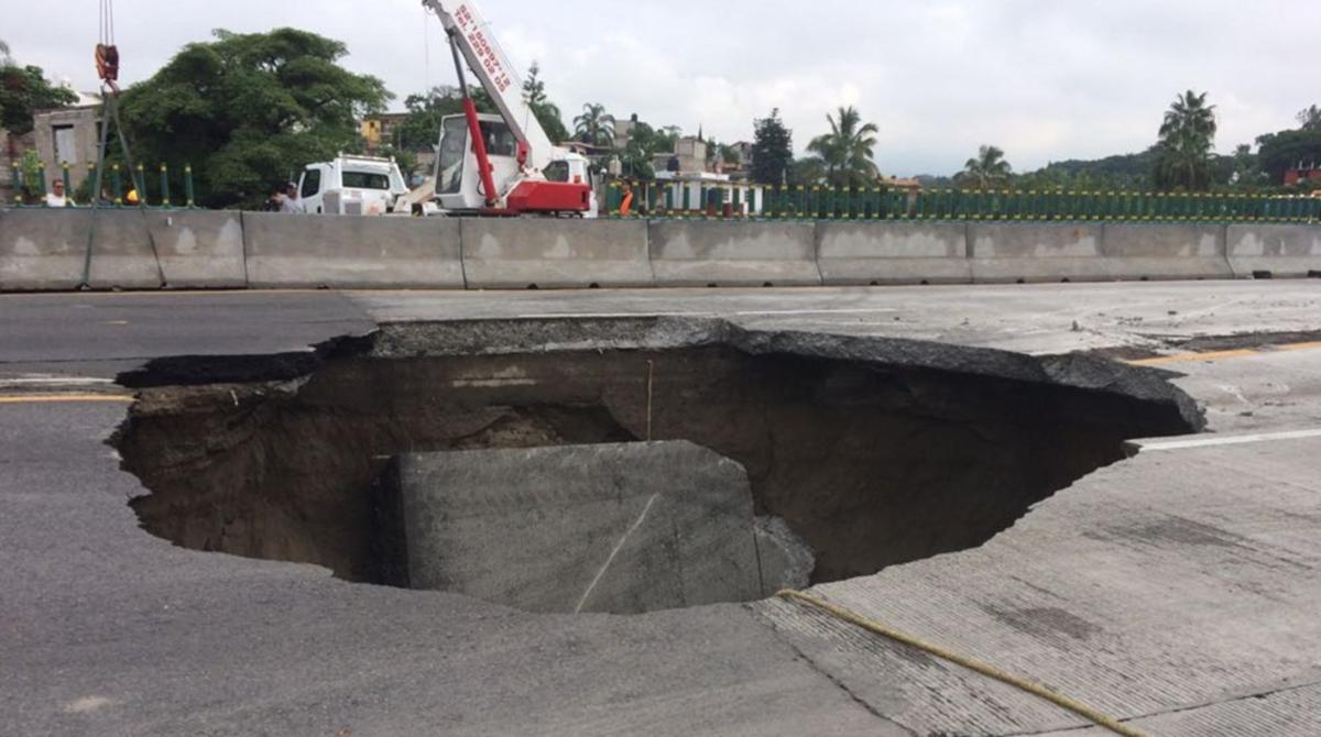 Reparación del Paso Exprés terminará a final de noviembre, costará 70 mdp: SCT