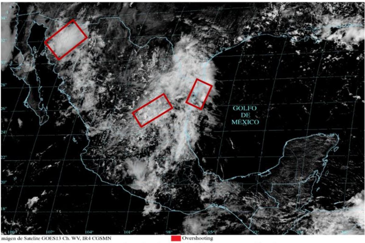 Se forma en el Pacífico tormenta tropical