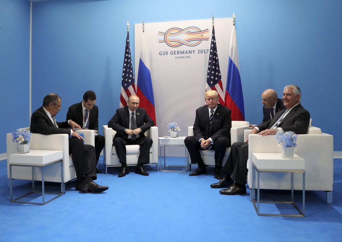 Tillerson confiesa el descontento de Trump con las sanciones contra Rusia