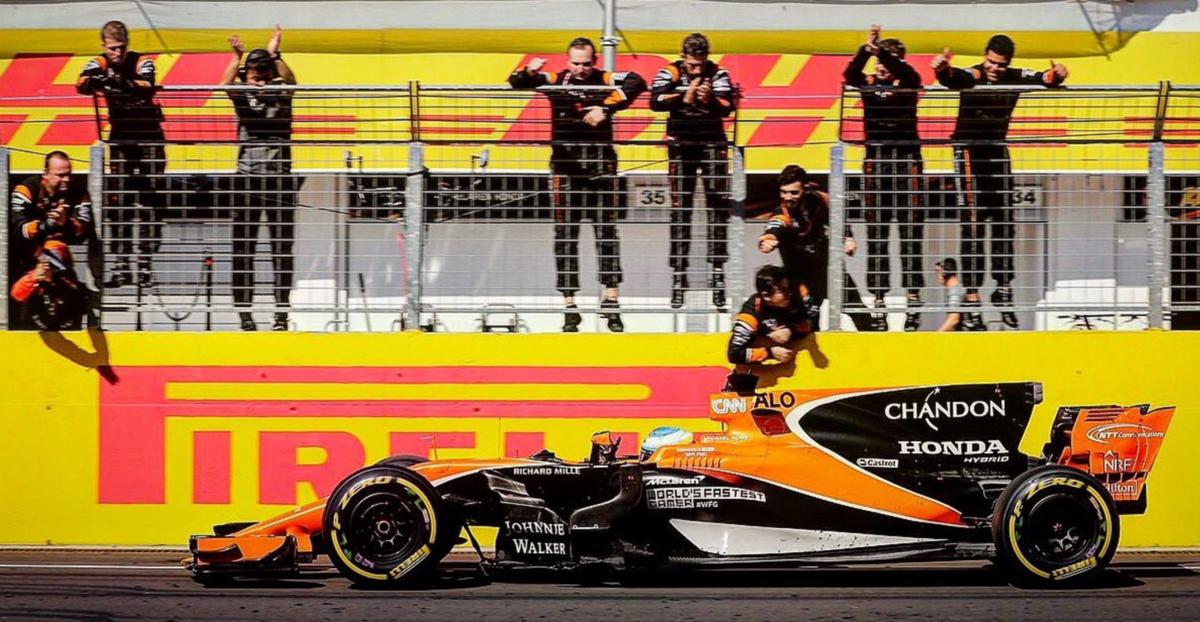 Alonso dice que su temporada está siendo