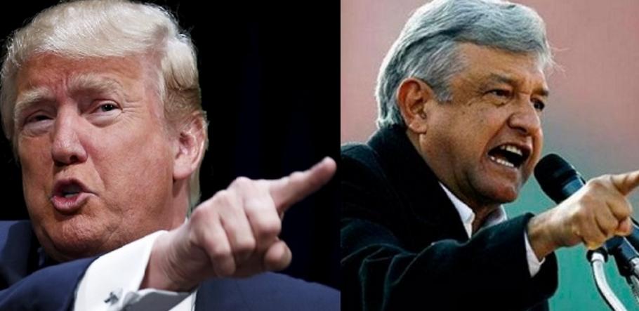 Respalda López Obrador a Donald Trump en tema del avión presidencial