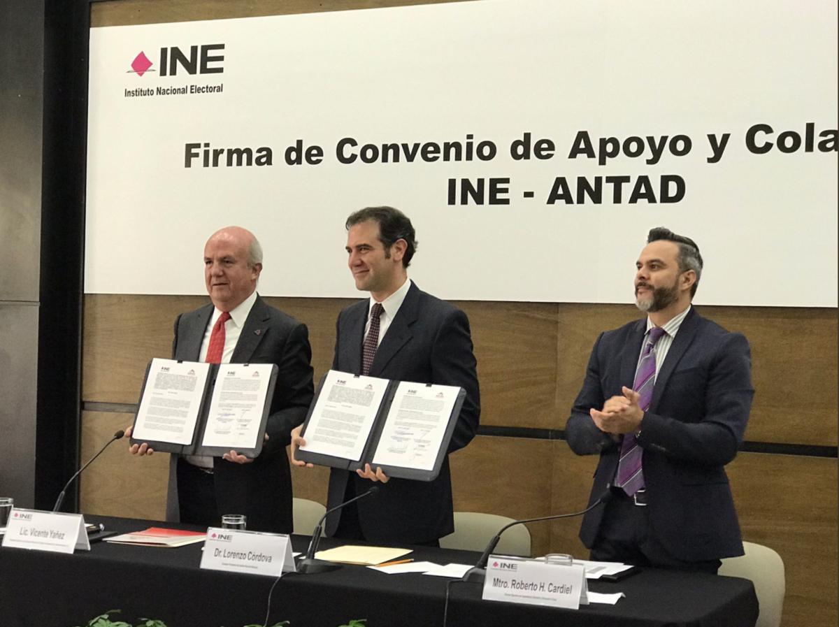 INE, preparado para generar certezas y certidumbre en 2018: Córdova