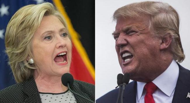 Revelan sondeos ventaja de Clinton sobre Trump en EEUU