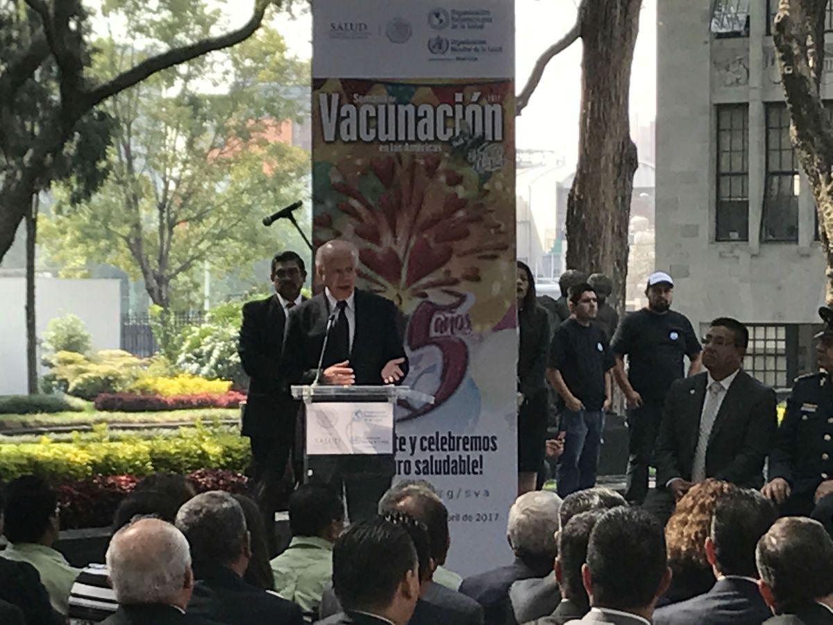 Arranca en México la Semana de Vacunación en las Américas