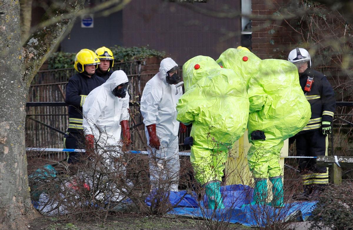 Ataque químico a espía ruso afectó a otras 21 personas — Reino Unido
