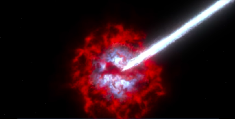 Mira el sistema estelar triple captado por primera vez en la Vía Láctea