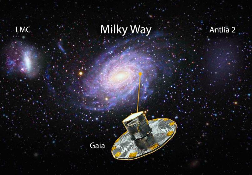Ant 2, la galaxia 'fantasma' descubierta por astrónomos