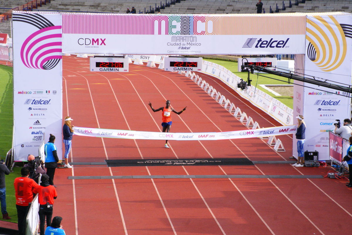 Kenia se lleva el primer lugar en el Maratón de la CDMX