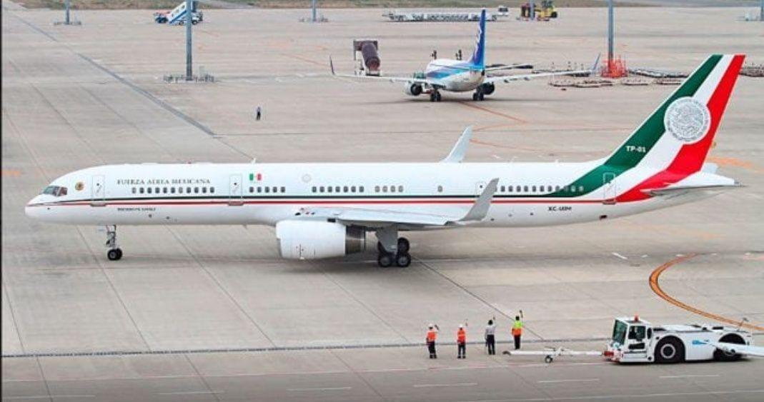 El lunes, el avión presidencial saldrá del país, adelanta vocero de AMLO