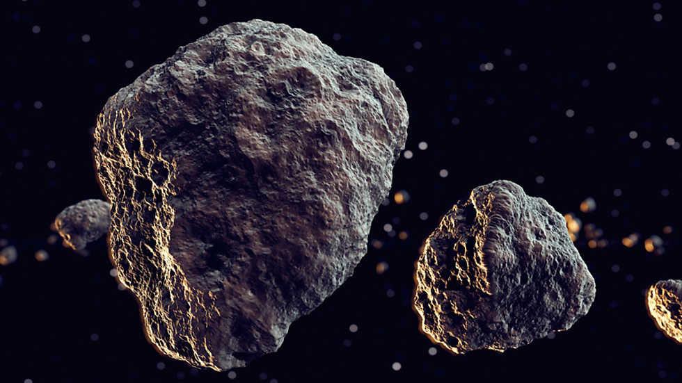 NASA alerta de tres asteroides que pasarán a poca distancia de la tierra