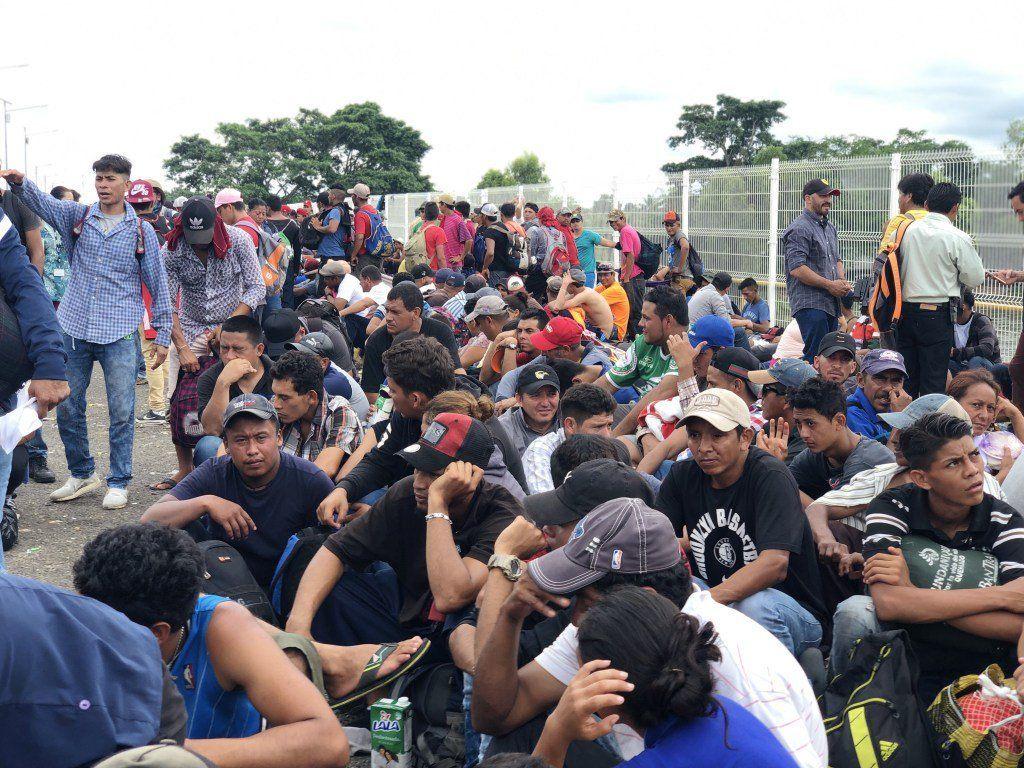 Caravana migrante rumbo a los Estados Unidos