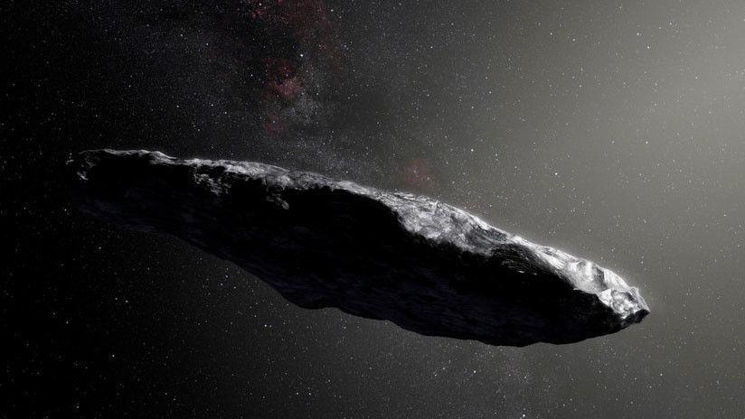 Supuesta sonda extraterrestre viaja a través del universo