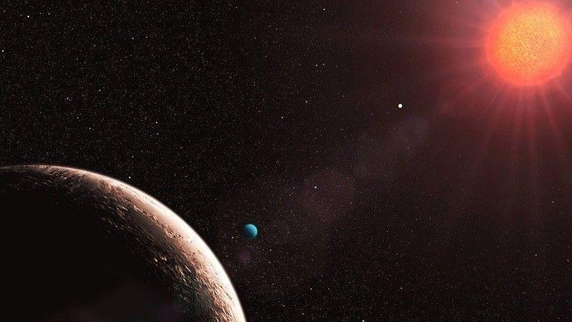Hallan agua en un exoplaneta a 179 años luz