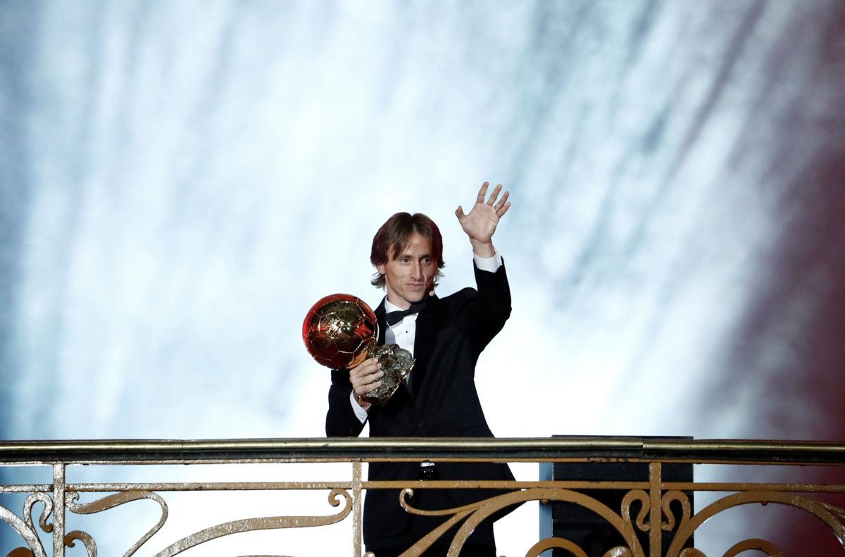 Luka Modric del Real Madrid gana el Balón de Oro 2018